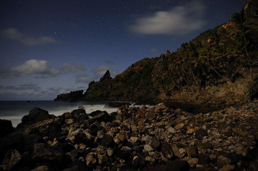 Bounty Bay before dawn