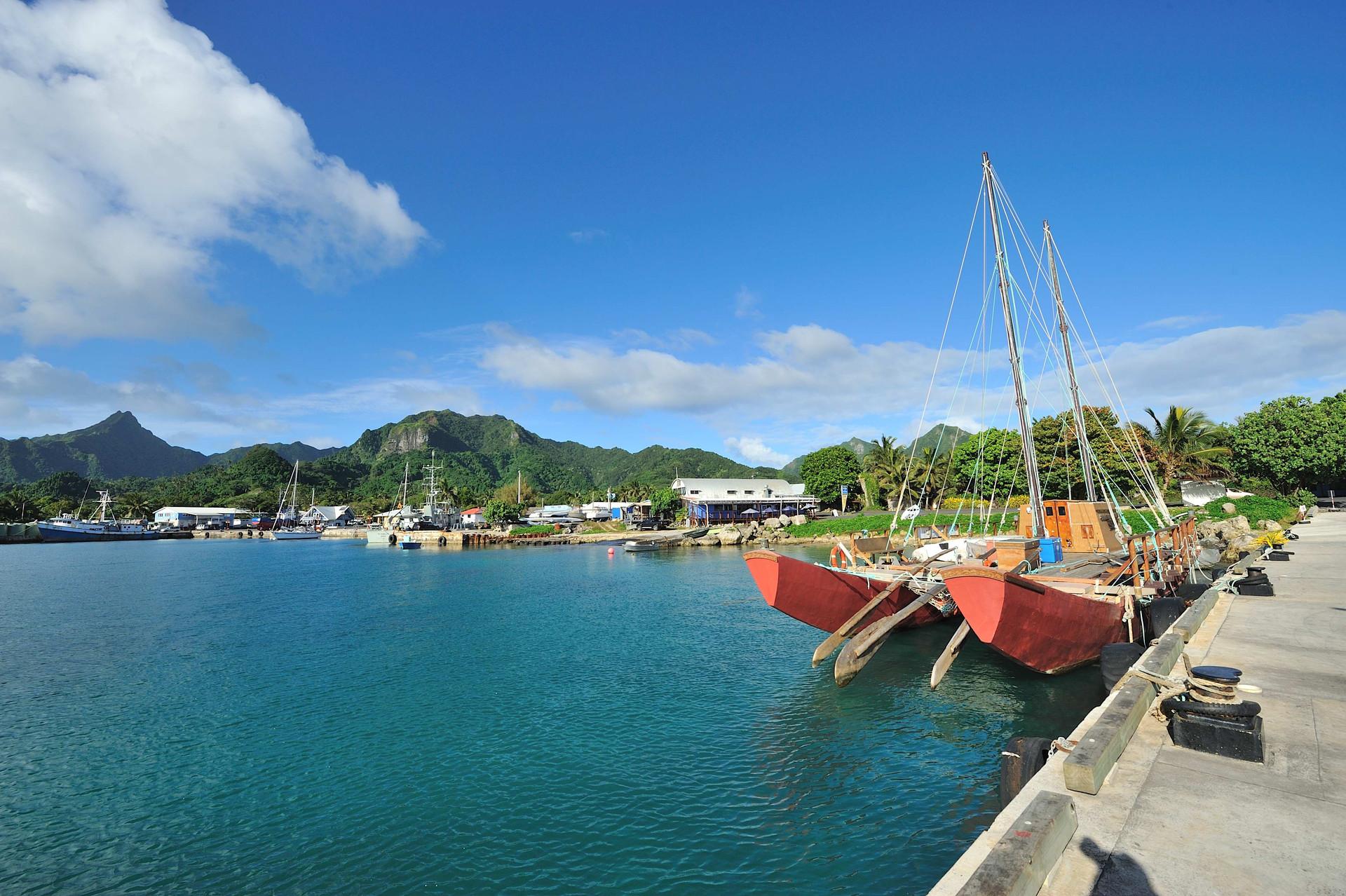 Avarua harbour