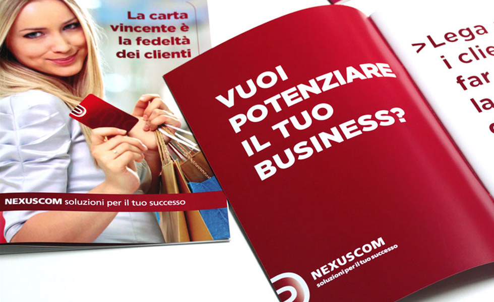 Nexuscom - Sales folder, Brochure