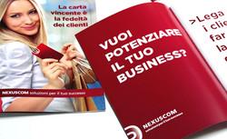Nexuscom - Sales folder, Brochure