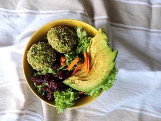 Albóndigas de brócoli y cous cous
