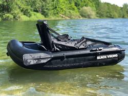 Black Viking Bellyboat