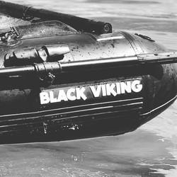 Black Viking Bellyboat 170mit Paddel