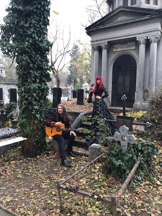 On Location in an old Catholic Cemetery