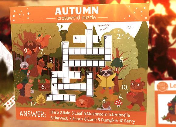 Kids Activities Printables - Autumn Fun Activity Games for Kids