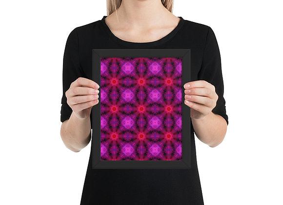 Geometric Abstract Art Framed poster