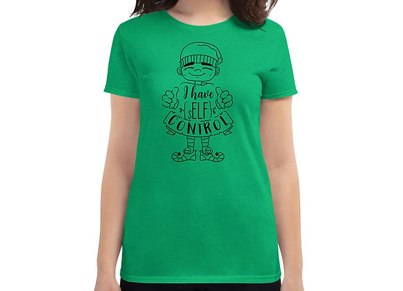 I Have Elf Control Christmas Women's short sleeve t-shirt