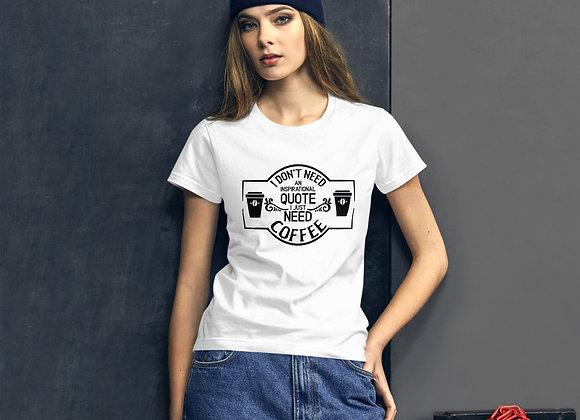 Funny Coffee Shirt Women's short sleeve t-shirt