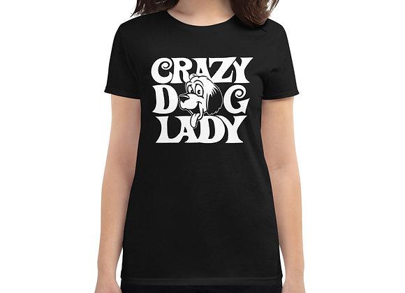 Crazy Dog Lady Dog Lovers Women's short sleeve t-shirt