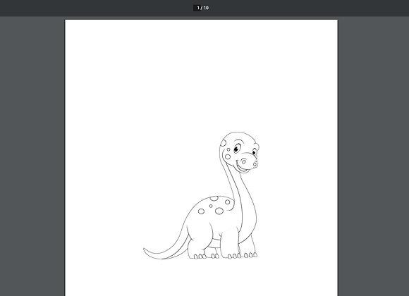 Preschool Printable Coloring Pages