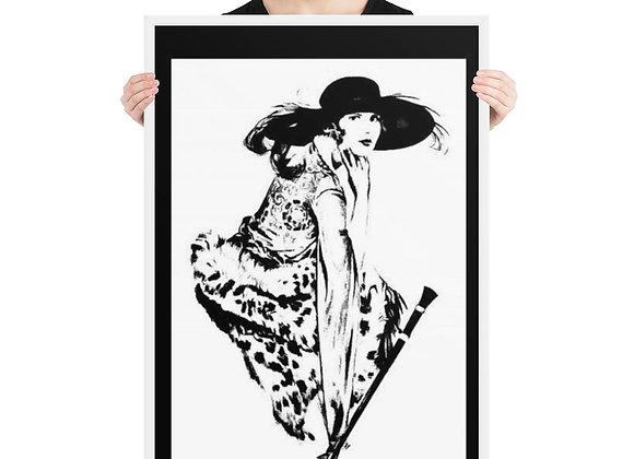 Fashion Diva Framed poster