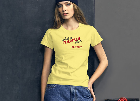 Funny T-Shirt Women's short sleeve t-shirt