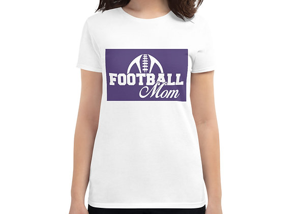 Football Mom Women's short sleeve t-shirt