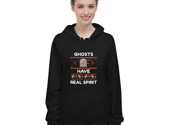 Halloween Ghosts Have Real Spirit Unisex Fleece Hoodie