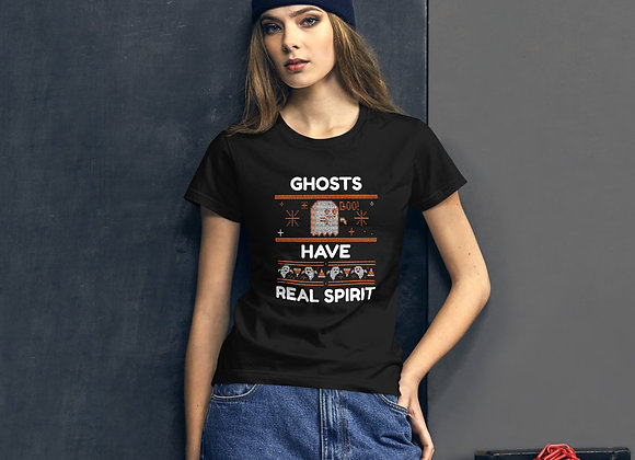 Halloween Ghosts Have Real Spirit Women's short sleeve t-shirt