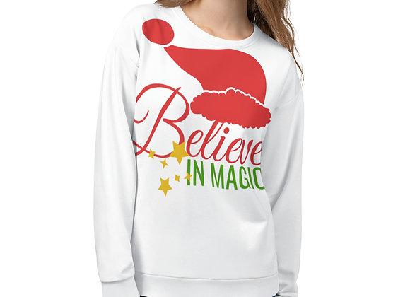 Christmas I Believe in Magic Unisex Sweatshirt