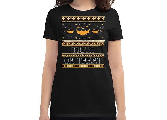 Trick or Treat Halloween Women's short sleeve t-shirt