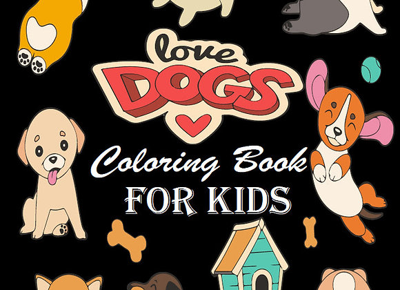 50 Dog Coloring Pages for Kids