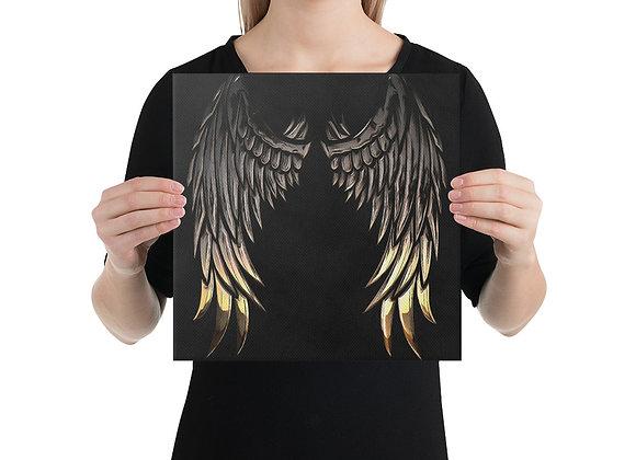 Angel Wings Canvas Wall Decor Art