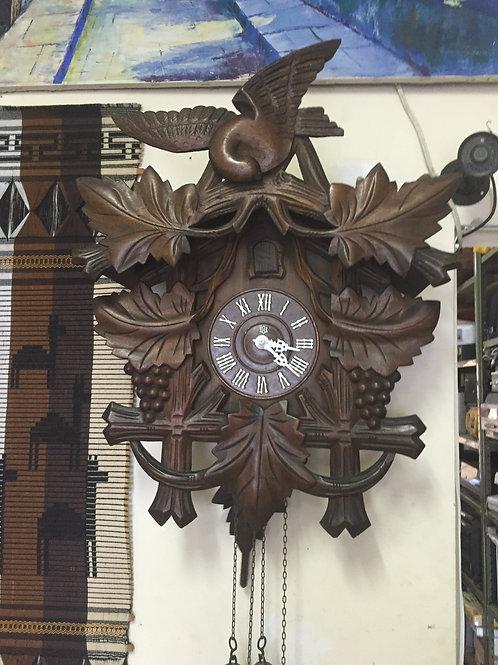 Relógio Cuco H 203 Grande - Batida Hora E Meia Hor