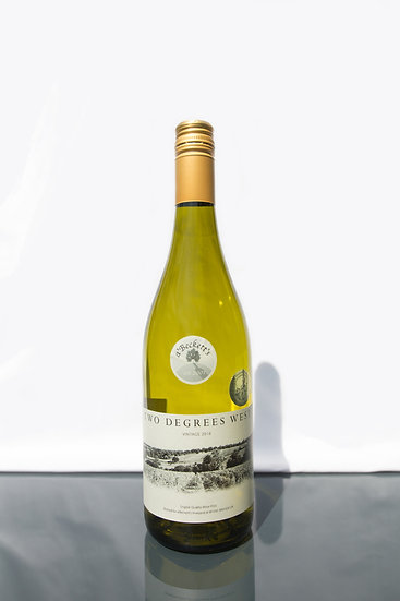 2018 Two Degrees West Chardonnay 0.75l