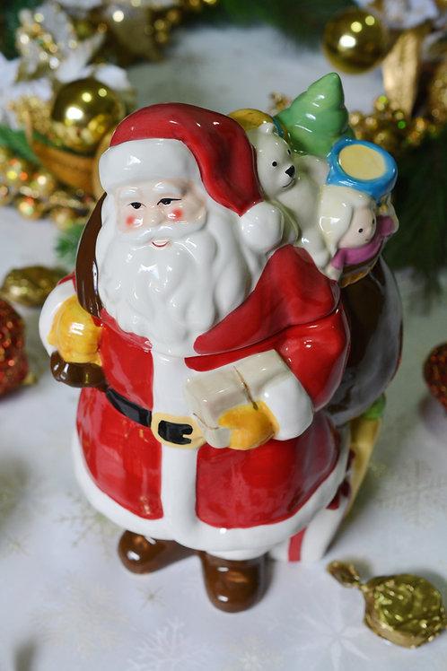 Compoteira Papai Noel