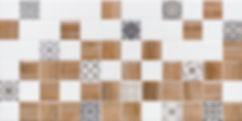 1041-0239 АСТРИД декор 2 белый 20х40 605 руб. м. кв.