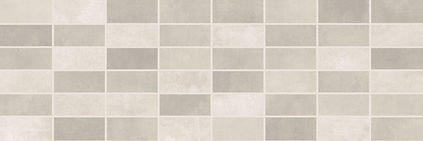 1064-0102 FIORI GRIGIO декор панно мозаика светло-серая 20х60 724 руб. м. кв.