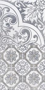 1641-0091  Кампанилья  декор серый 20х40  249 руб шт