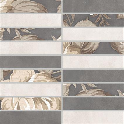 1932-0012 FIORI GRIGIO мозаика разноцветная 30х30 393 руб. шт.