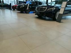 Выполненные работы в Mercedes