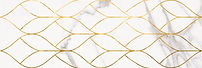 1664-0156 МИЛАНЕЗЕ ДИЗАЙН декор 20х60 тресс каррара 499 руб. шт.