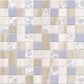 1932-0011  TENDER MARBLE декор 30х30 голубой мозаика 385 руб шт
