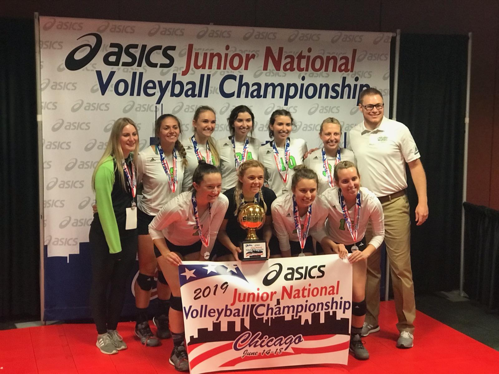 18B 1st Place Asics Jr Championships Nav