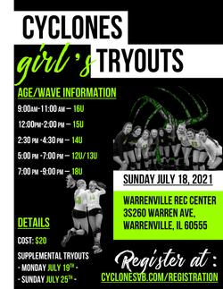 Girls Aurora Tryouts 2021-2022