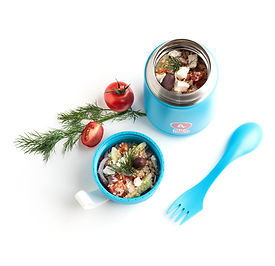Quinoa Salat auf griechische Art
