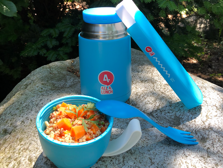 Vitamin A für deine All4Lunch Box: Orientalischer Quinoa-Karotten-Salat
