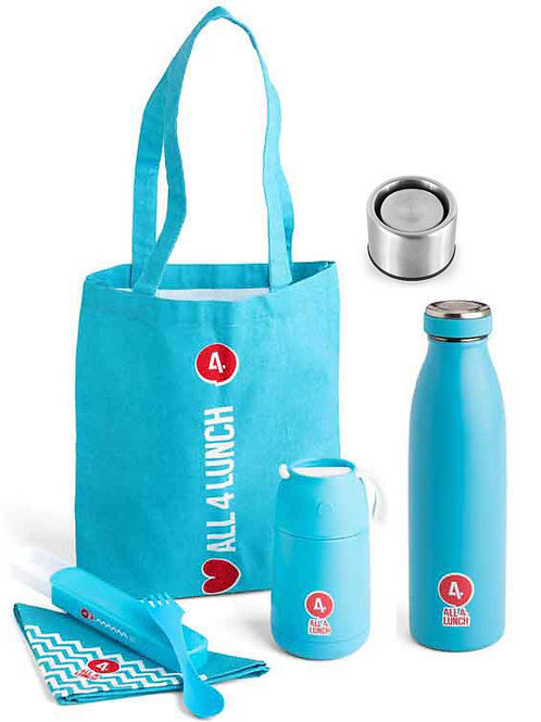 All4Lunch Set 450 ml & Isolierflasche & (Klickverschluss gratis)
