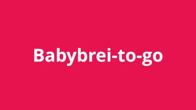 Babybrei-to-go