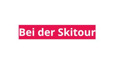 All4Lunch bei der Skitour