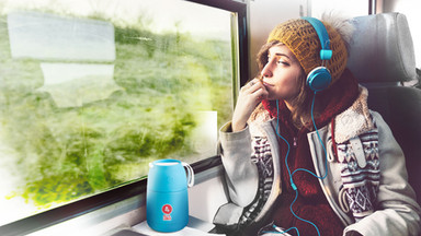 Im Zug oder Bus