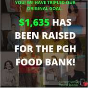 Teaming up with local creatives we were able to raise $1,635 which provided close tp 8 thousand meals for those in need.