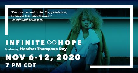 infinite hope - landscape flyer