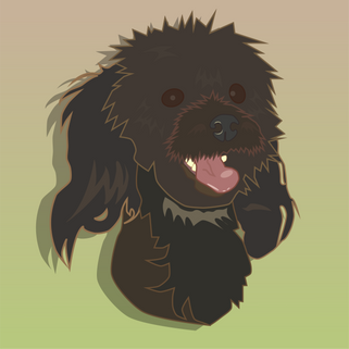 Happy Pup by Chanelle-Lize