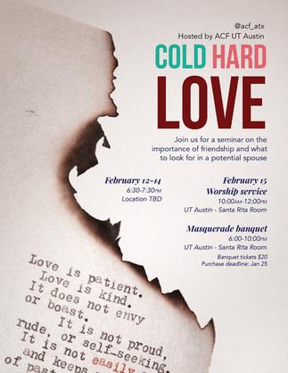 Cold Hard Love flyer