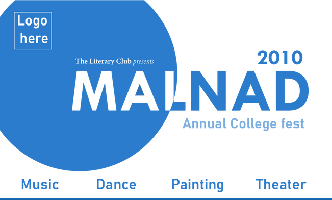 College Fest Poster by Preetham