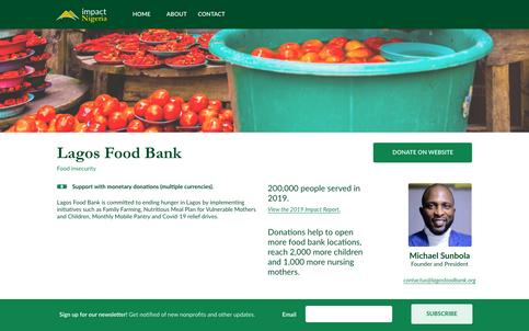Nonprofit page - Lagos Food Bank.png
