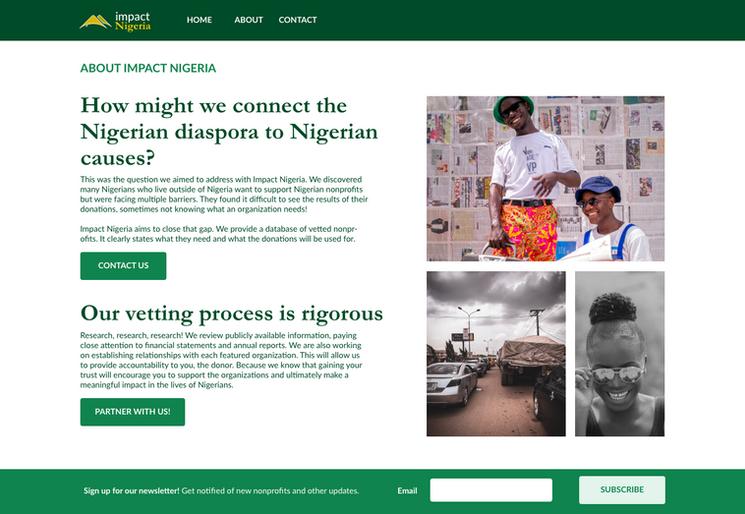 Impact Nigeria about