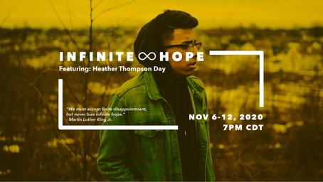 infinite hope - facebook event banner