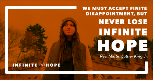 infinite hope - landscape quote post 1